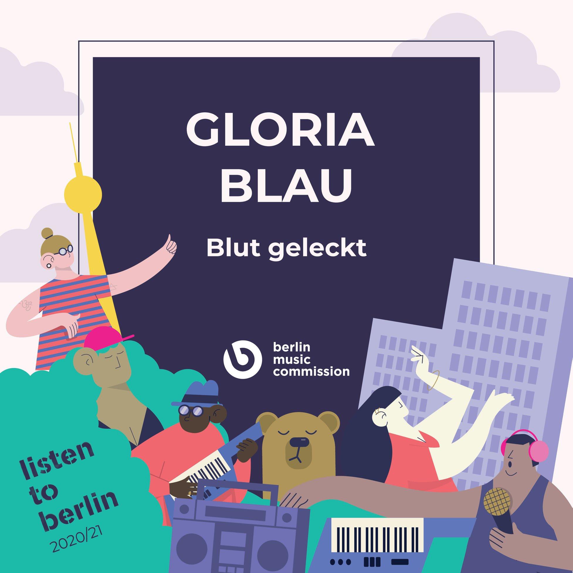 Gloria Blau Blut geleckt